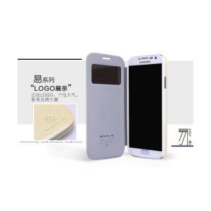 Bao da Galaxy S4 i9500 S View cover hiệu Nillkin