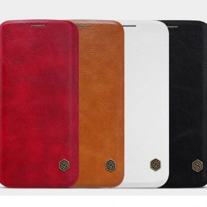 Bao da Galaxy S7 Edge hiệu Nillkin Qin chính hãng được thiết kế với các màu sắc khác nhau cho bạn thoải mái lựa chọn.