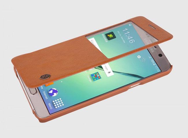 Bao da Qin hiệu Nillkin cho Samsung Note 5 chính hãng siêu bền