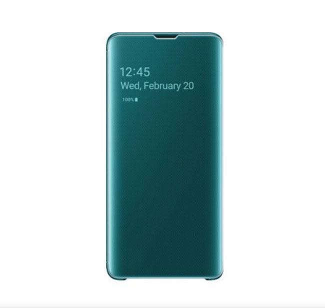 Bao da Clear View Standing  Samsung S10 Plus