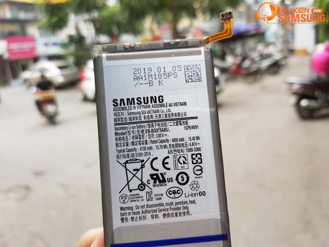 Pin Samsung S10 Plus giá rẻ Hà Nội HCM