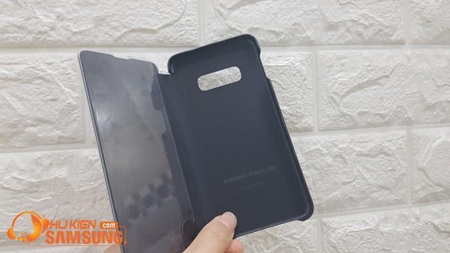 giá bao da clear view Samsung S10 E giá rẻ Hà Nội
