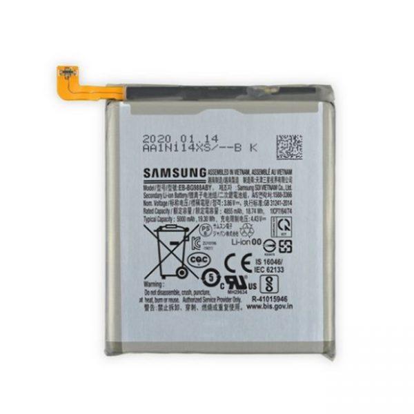Thay pin Galaxy S20 Ultra chính hãng có bảo hành giá rẻ lấy ngay hà nội tphcm