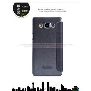 Bao da Galaxy E7 hiệu Nillkin Sparkle